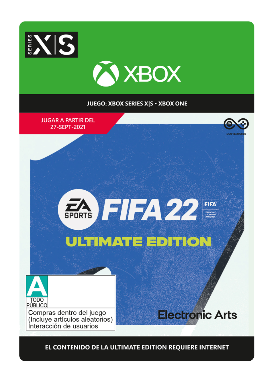 FIFA 22: Ultimate Edition - Pre-Purchase
