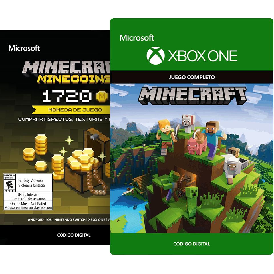 Minecraft Xbox One + 1720 Minecoins