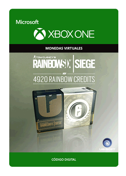 Tom Clancy s Rainbow Six Siege Currency Pack De 4920 Créditos