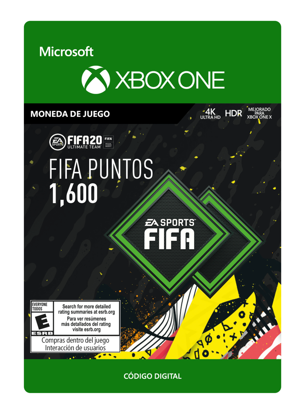 FIFA 20 Ultimate Team - 1600 puntos