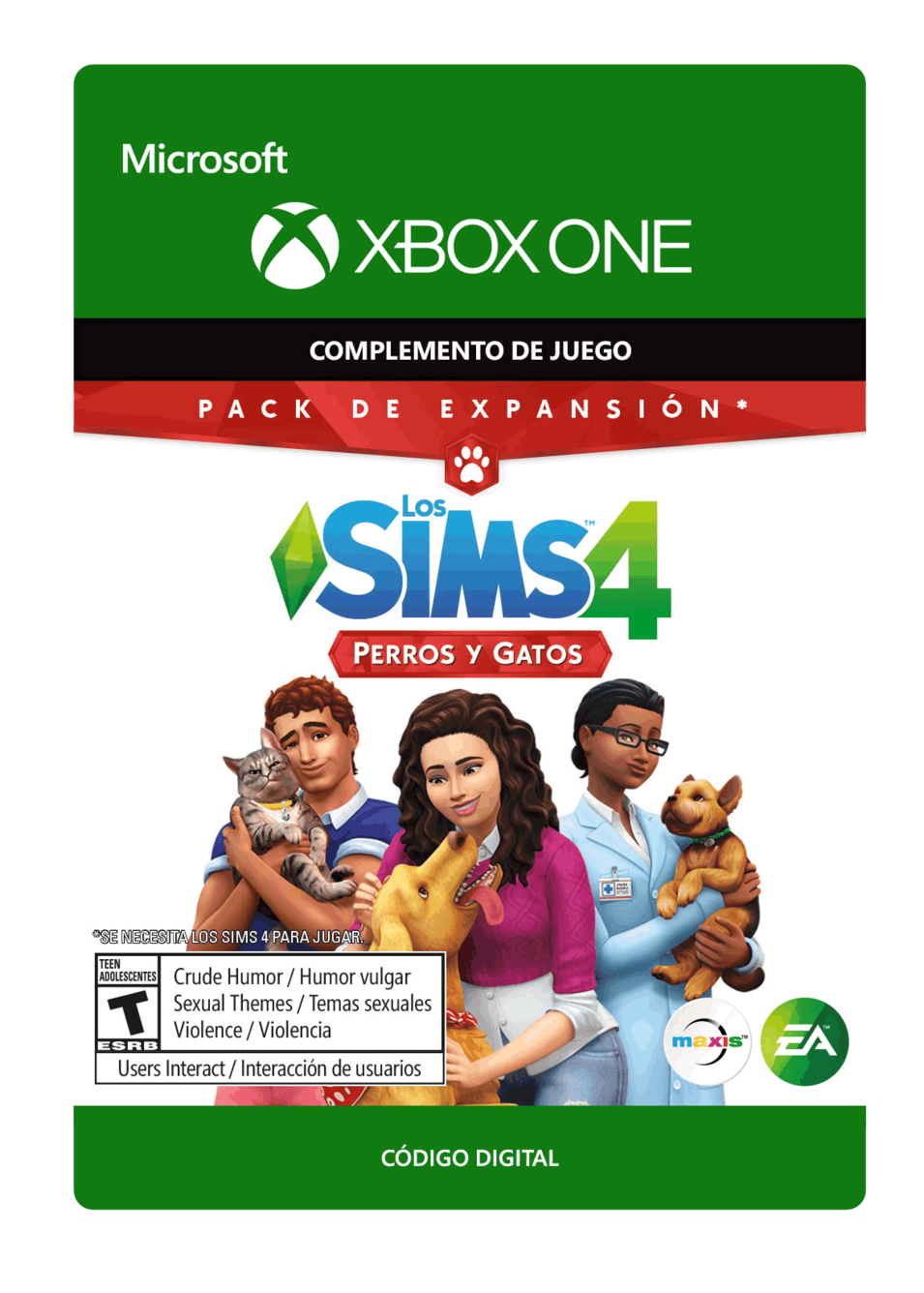The Sims 4 Perros y Gatos DLC