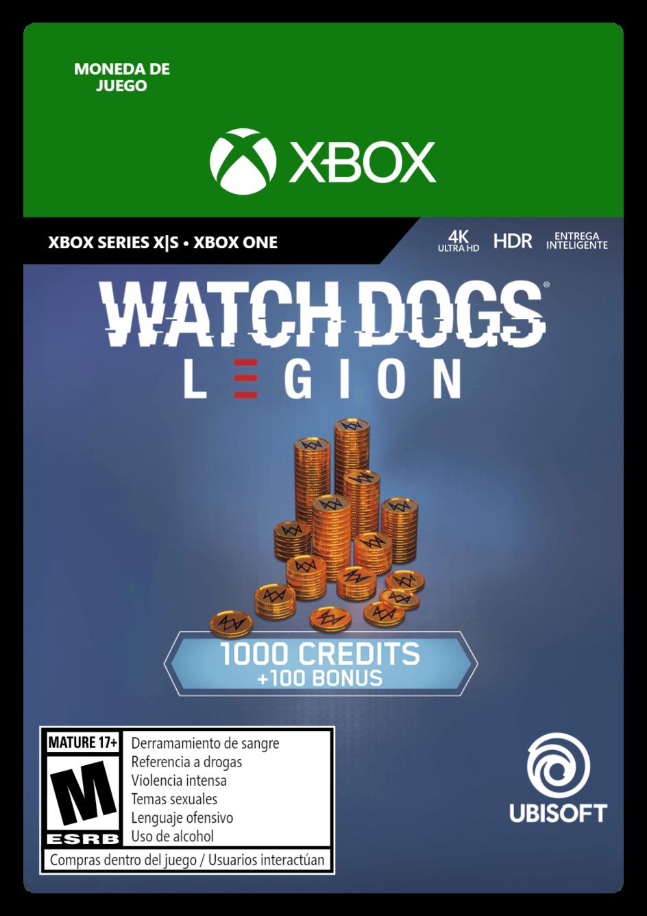 Watch Dogs Legion 1100 WD Credits