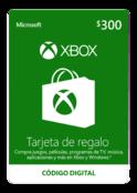 Tarjeta De Regalo Digital De Xbox Por $300 MXN