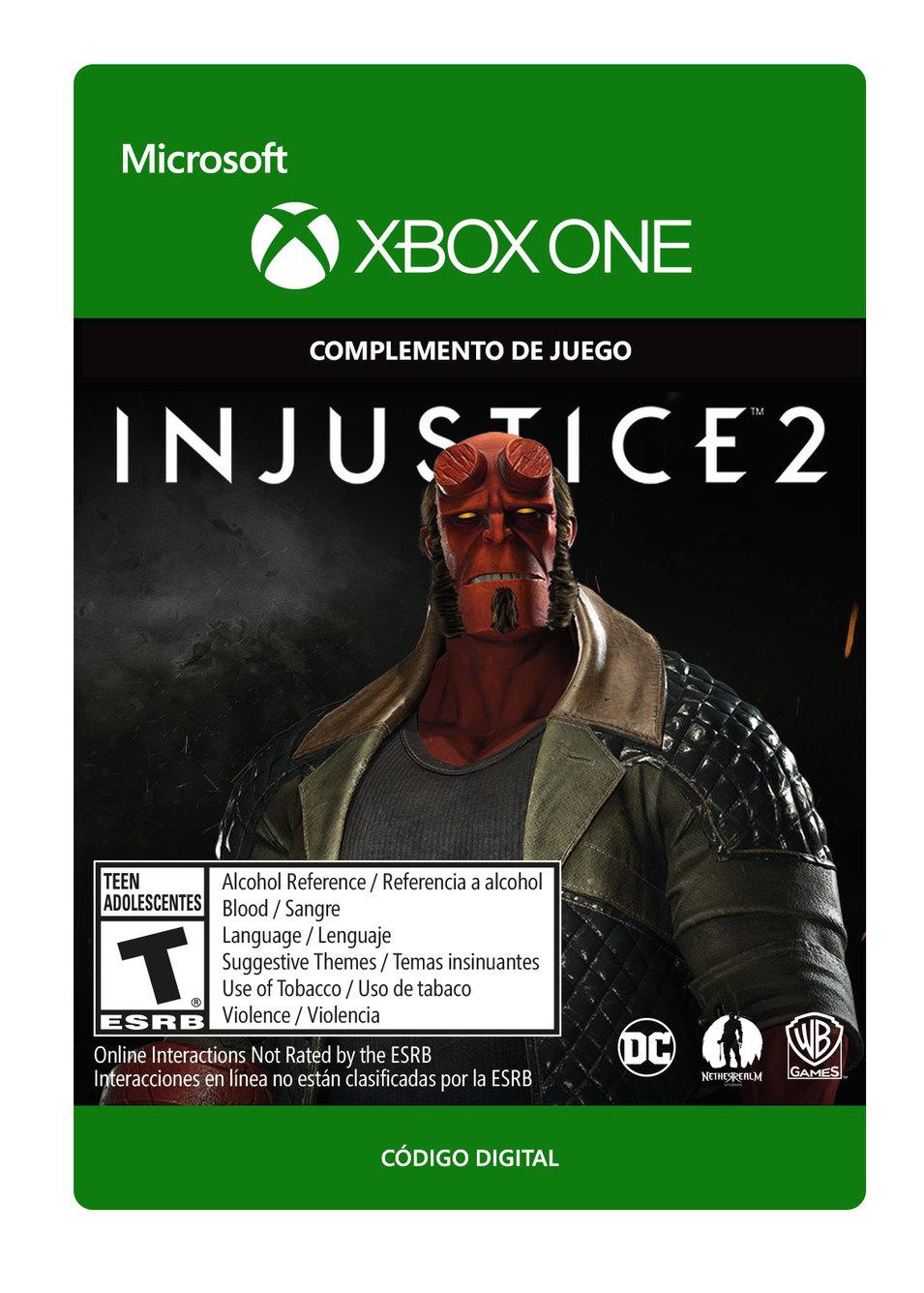 Injustice 2: Hellboy