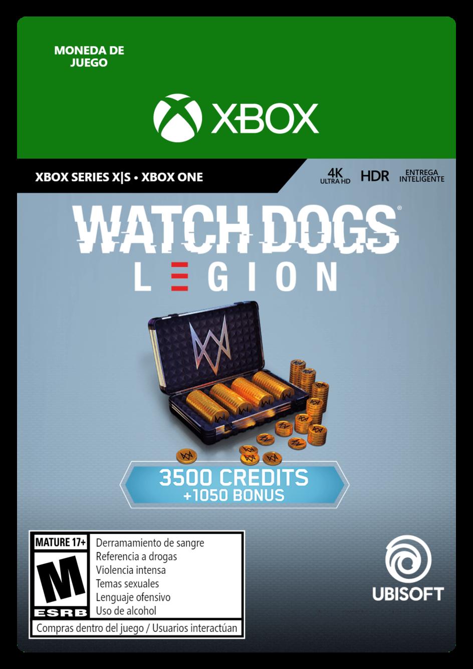 Watch Dogs Legion 4550 WD Credits