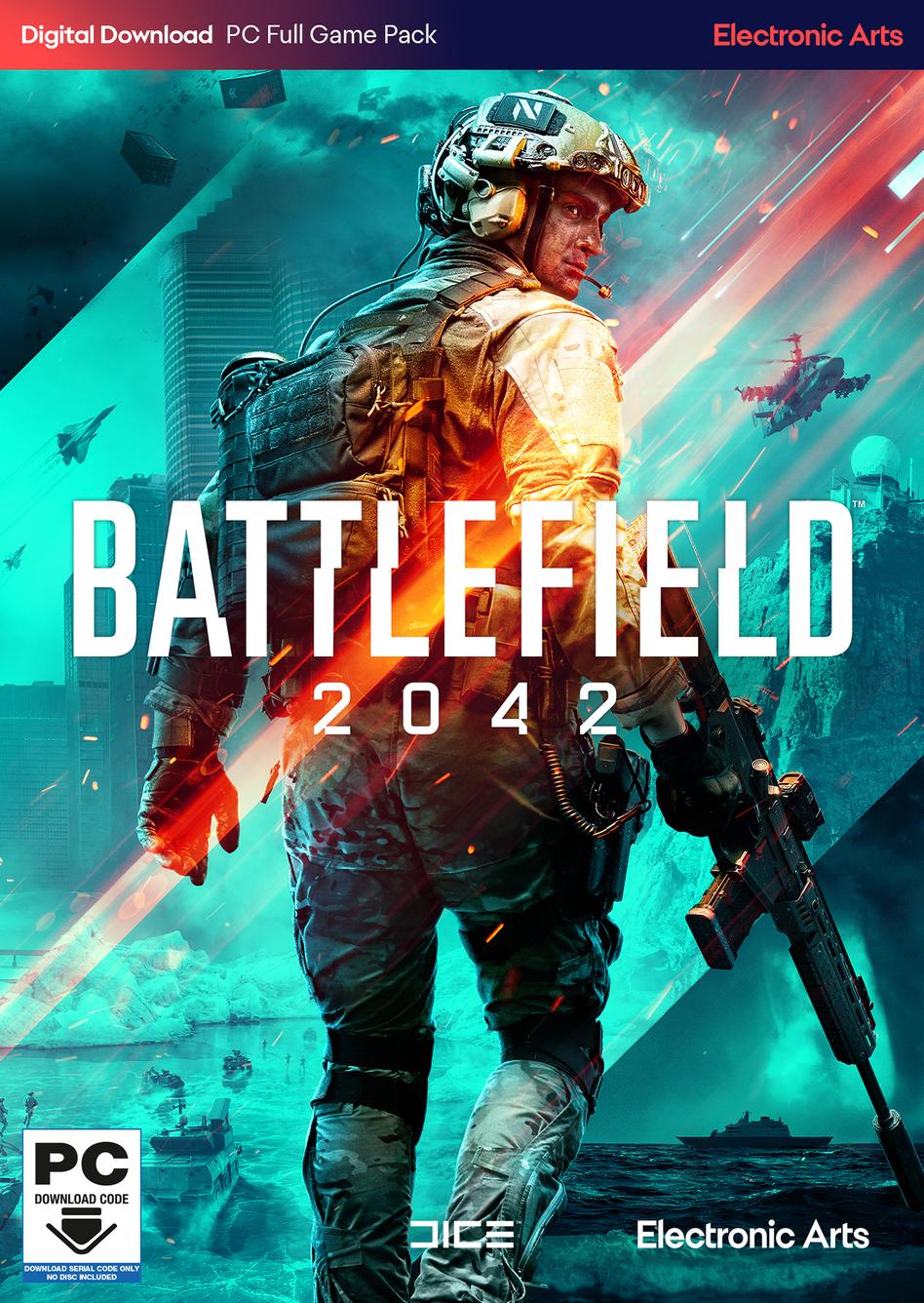 Battlefield 2042 Standard Edition Preorder(ANZ+ASIA+Africa+NCSA) - Origin