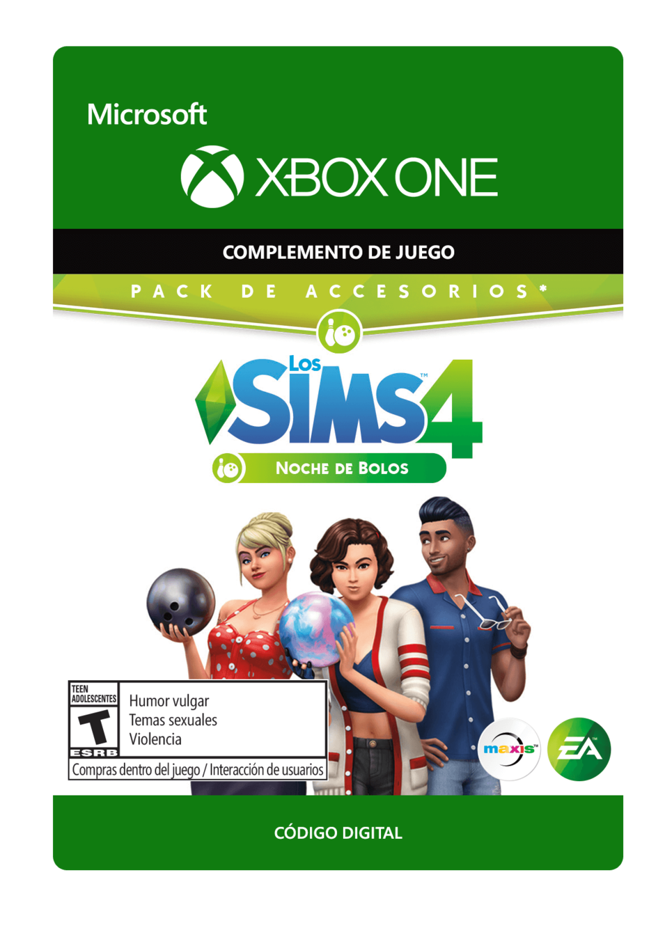 The SIMS 4 Bowling Night Stuff Noche de Bolos DLC