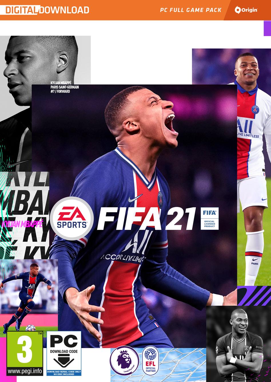 FIFA 21 Standard Edition - Origin