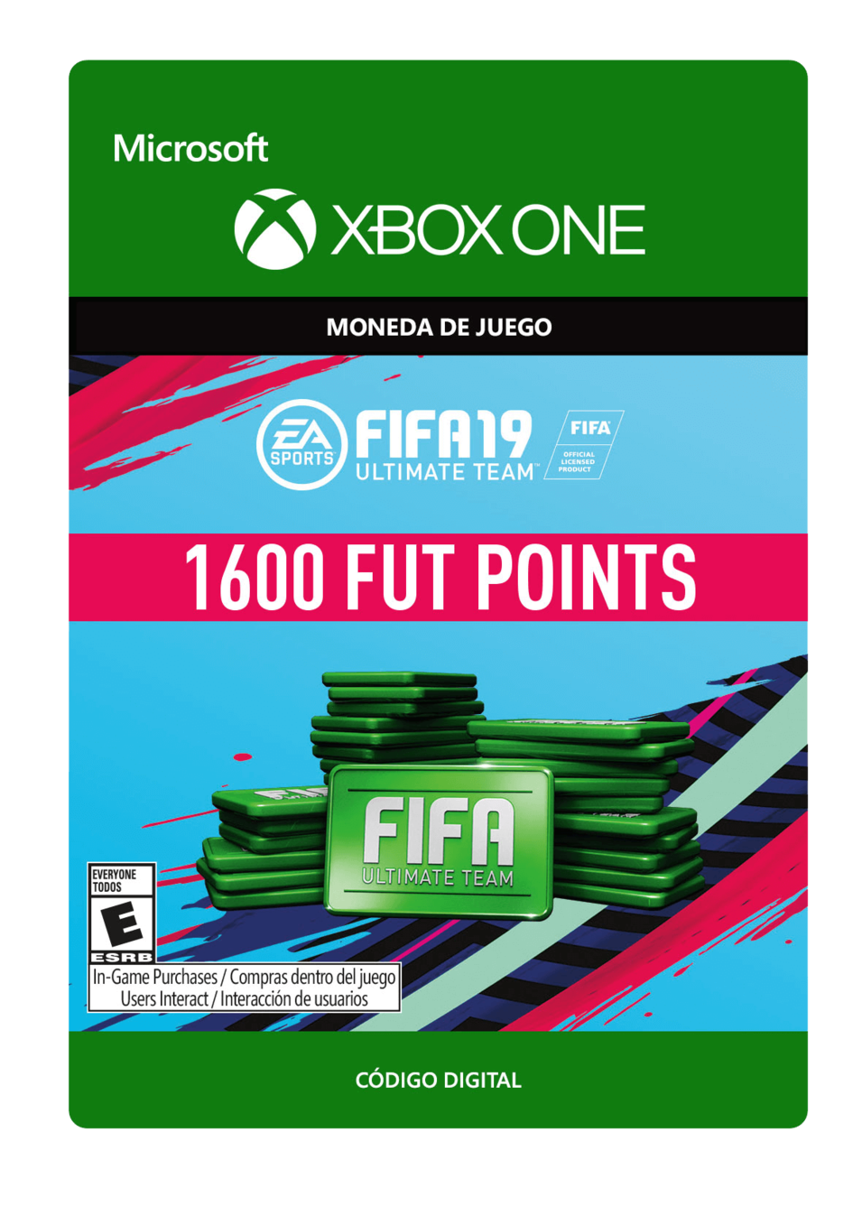 FIFA 19 Ultimate Team Points Pack De 1600