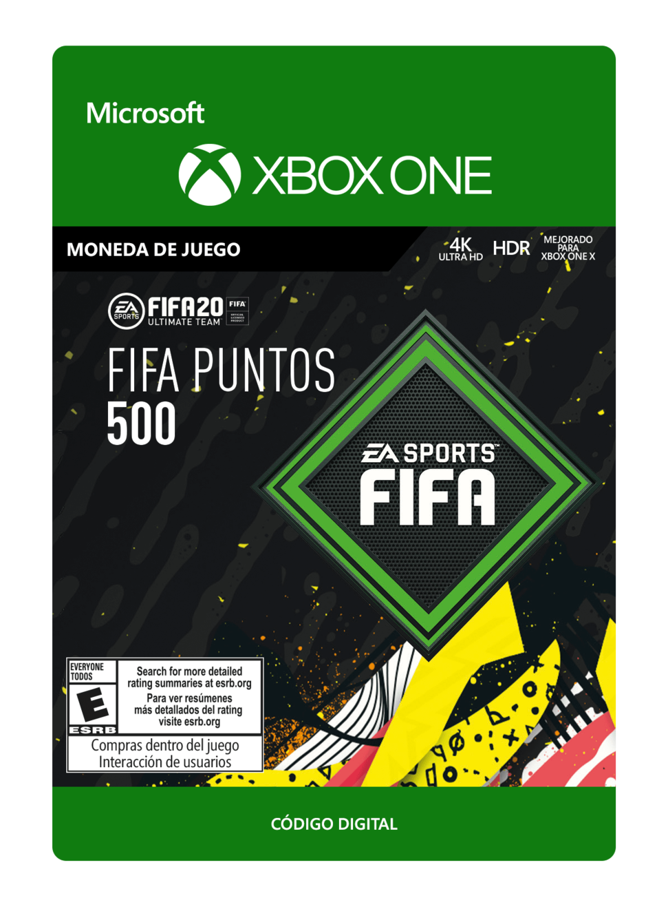 FIFA 20 Ultimate Team - 500 puntos