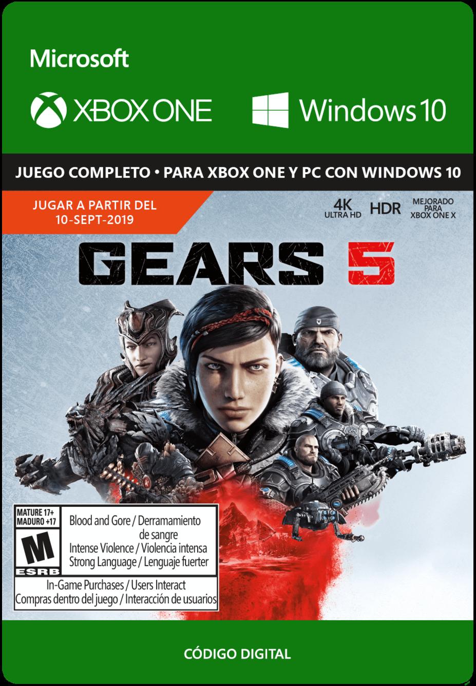 Gears 5 Pre Venta