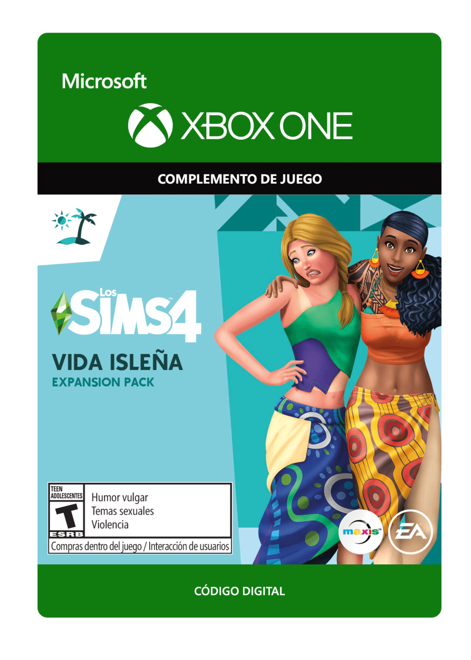 The Sims 4 Island Living Vida Isleña DLC