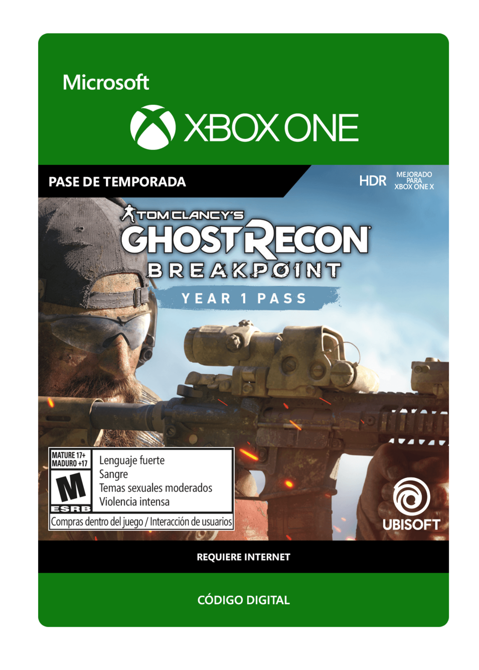 Tom Clancy s Ghost Recon Breakpoint: Year 1 Pass