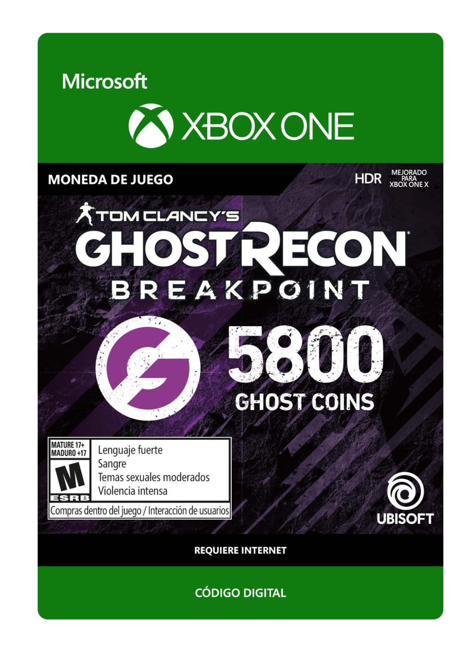 Tom Clancy s Ghost Recon Breakpoint 5800 Ghost coins