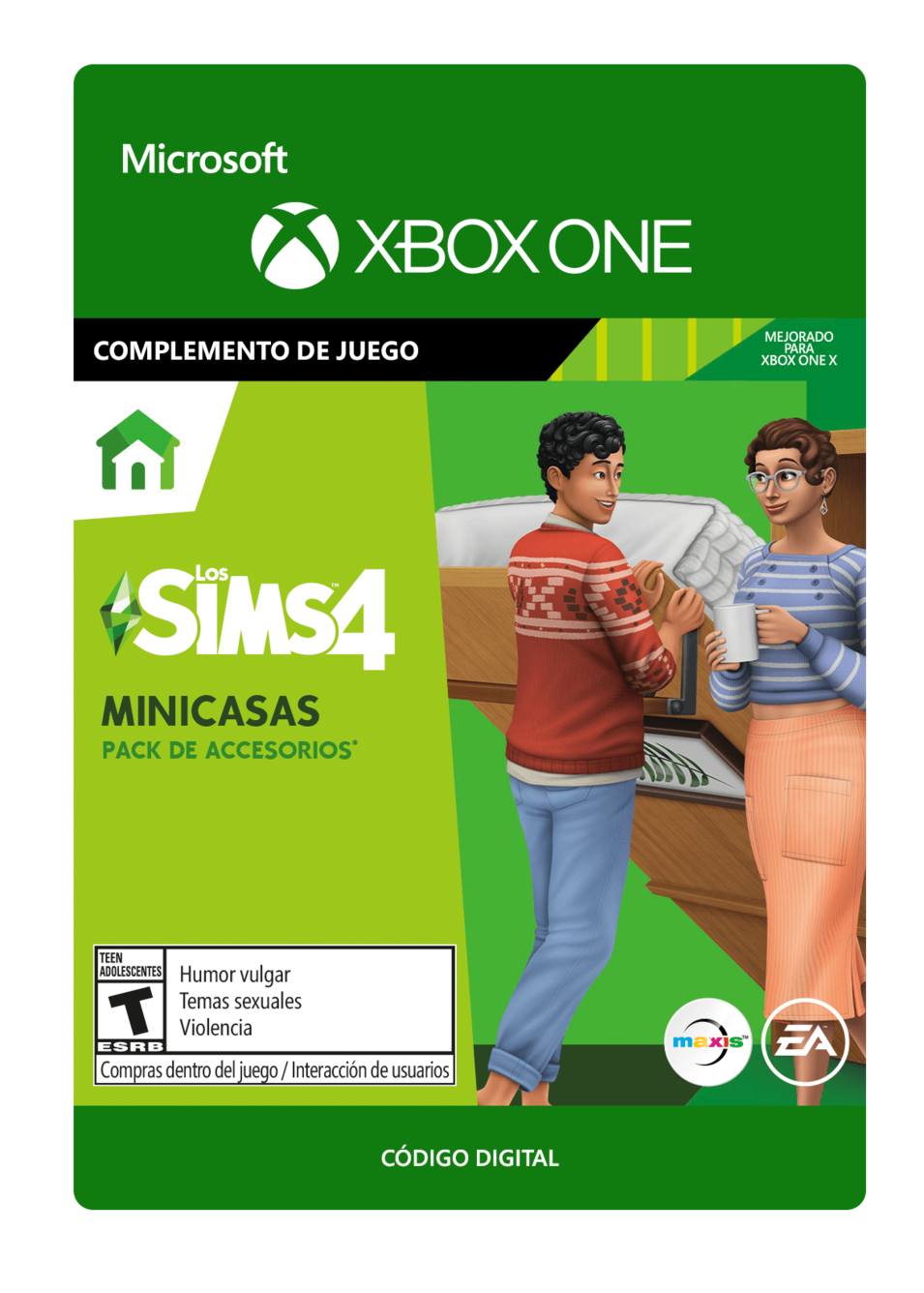 The Sims 4: Tiny Living Minicasas DLC