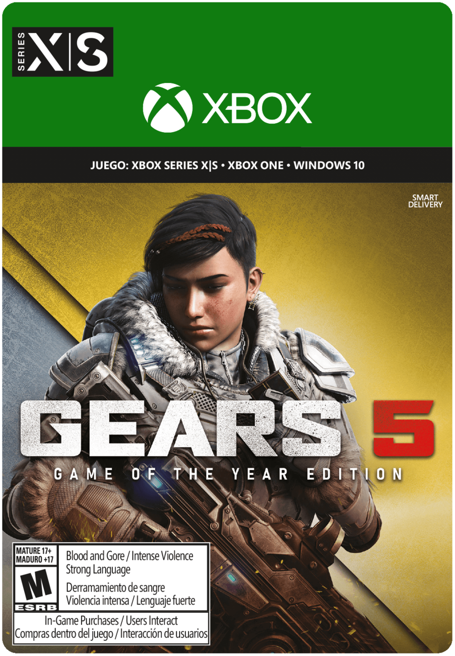Gears of War 5 Game of the Year Edition