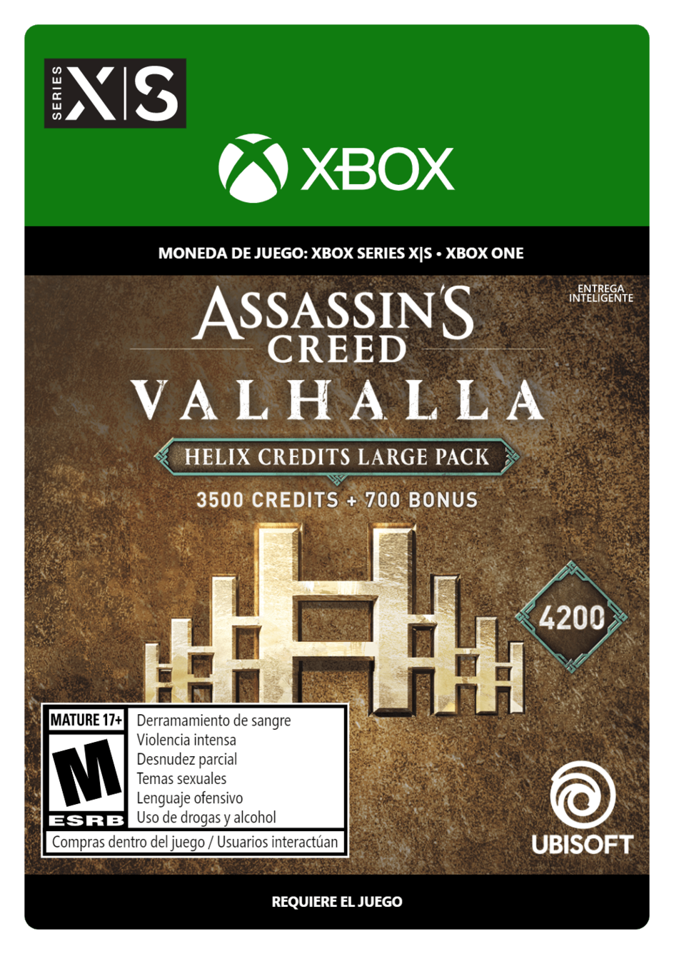 Assassins Creed Valhalla Large Helix Credits Pack 4200