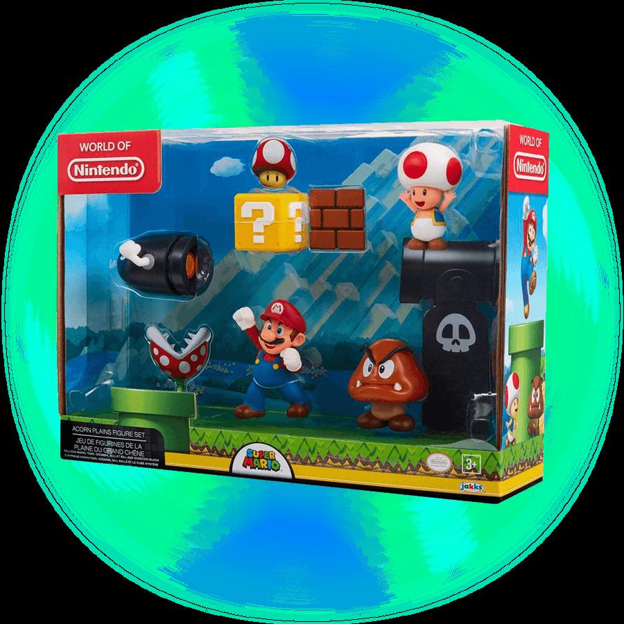 Nintendo set de juego Acorn Plains