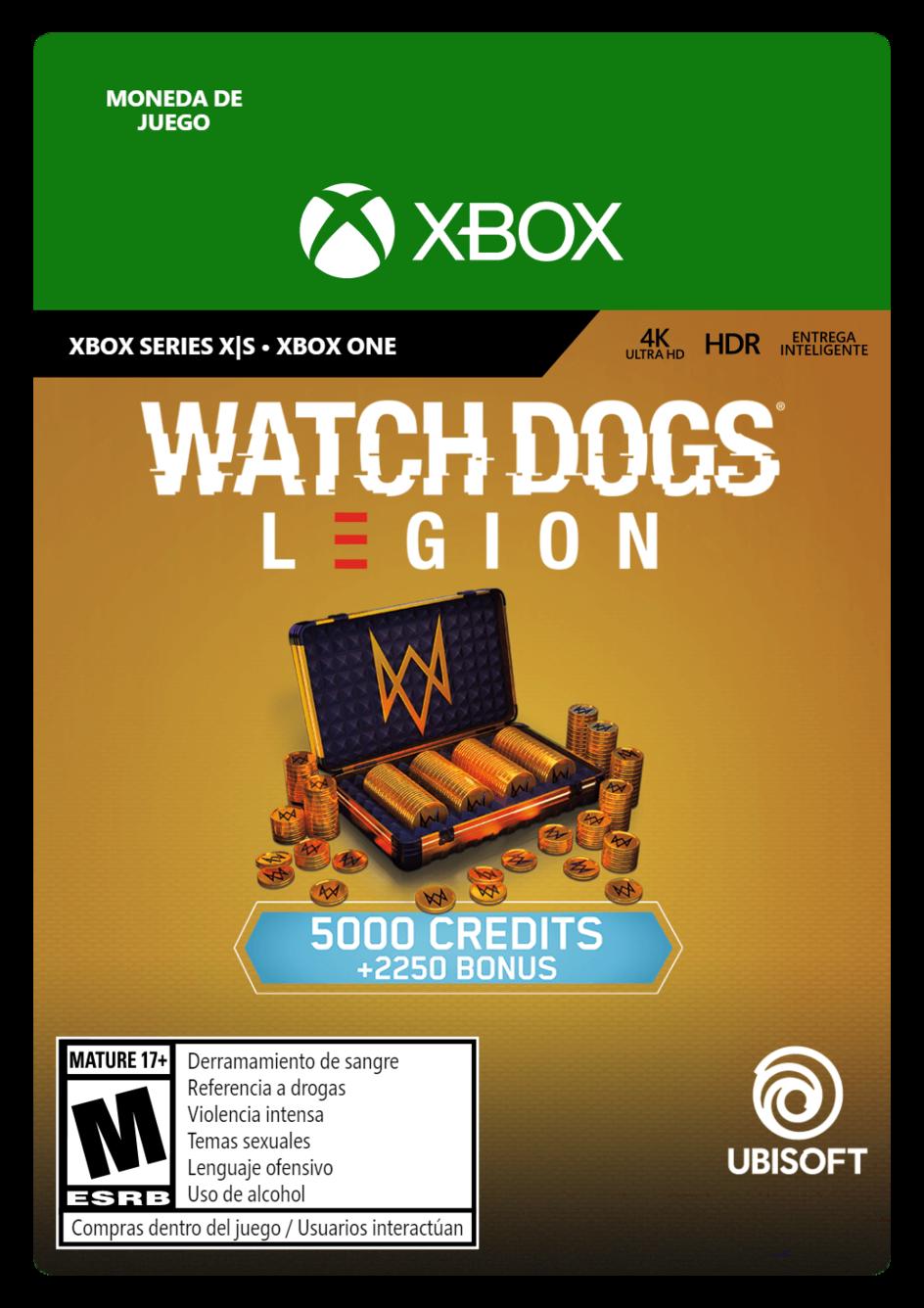 Watch Dogs Legion 7250 WD Credits