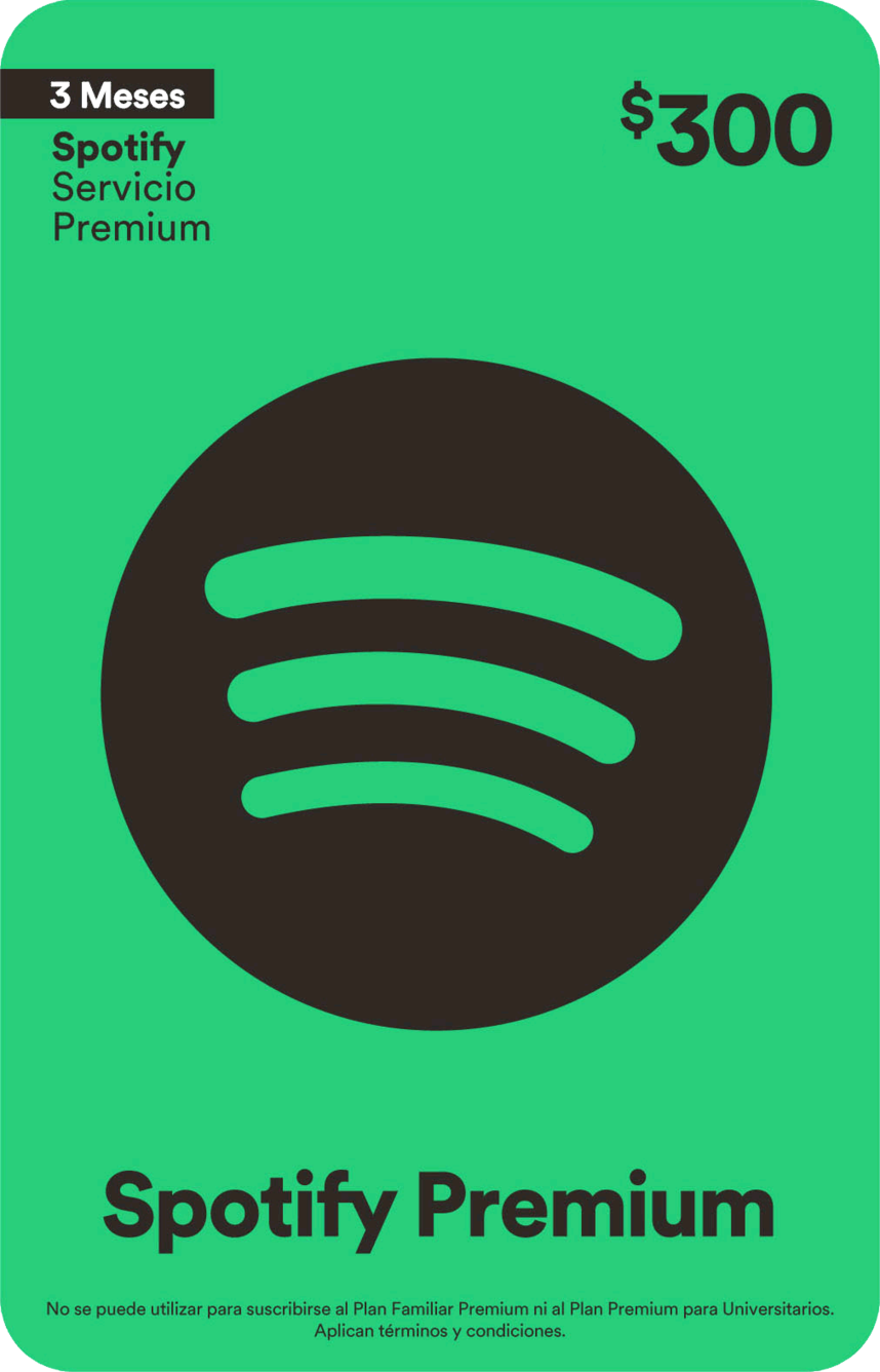 Spotify Premium 3 Meses