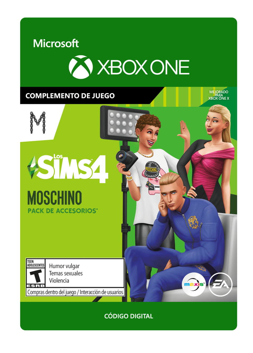 The Sims 4 Moschino Stuff Pack DLC