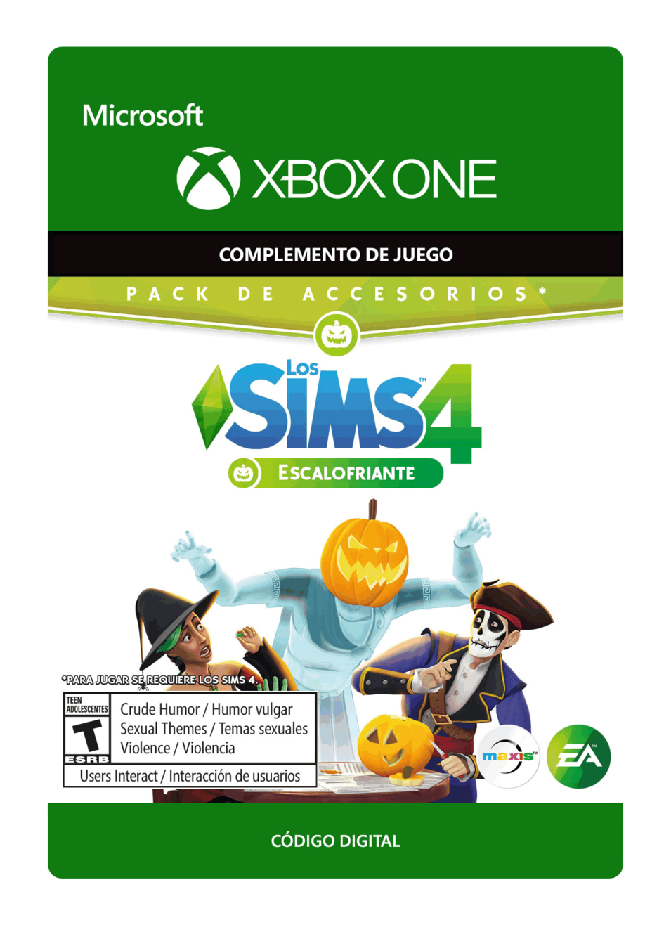 The Sims 4 Spooky Stuff Escalofriante DLC