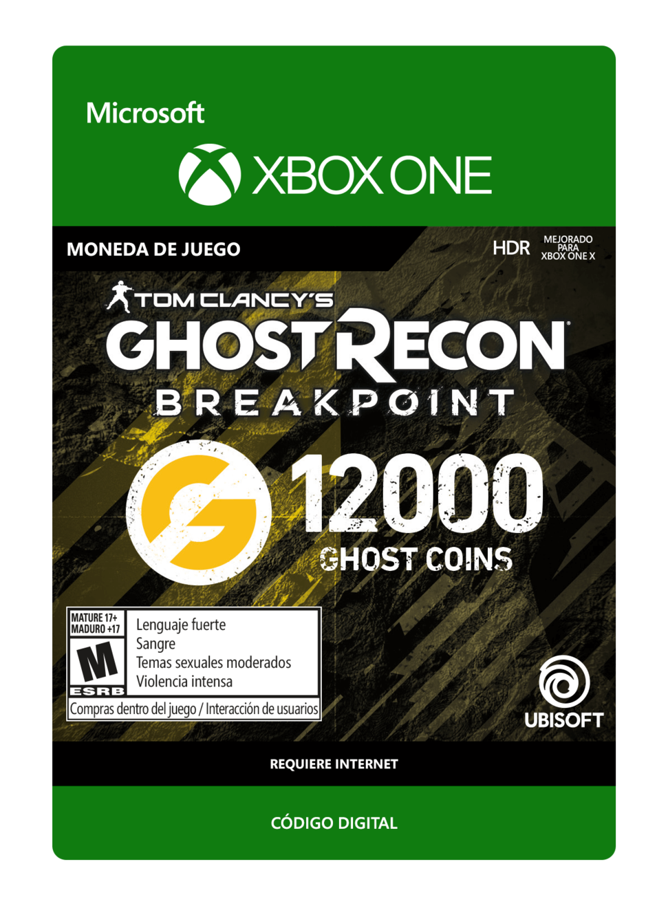 Tom Clancy s Ghost Recon Breakpoint 12000 Ghost coins