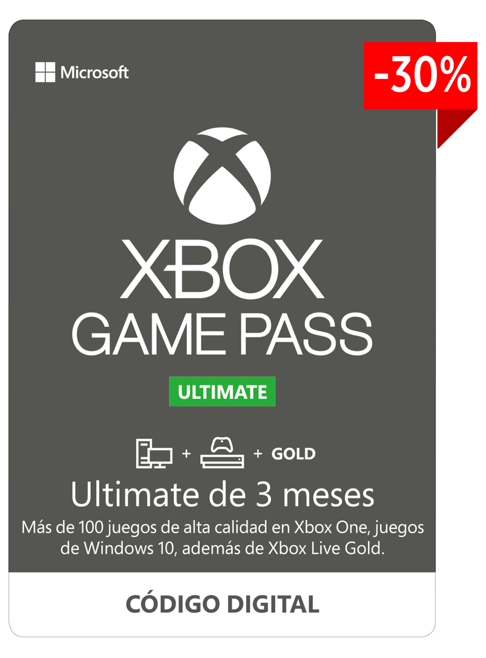 Xbox Game Pass Ultimate 3 meses
