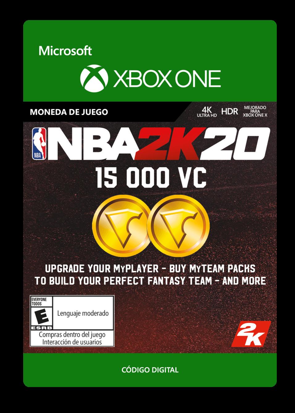 NBA 2K20 15000 VC
