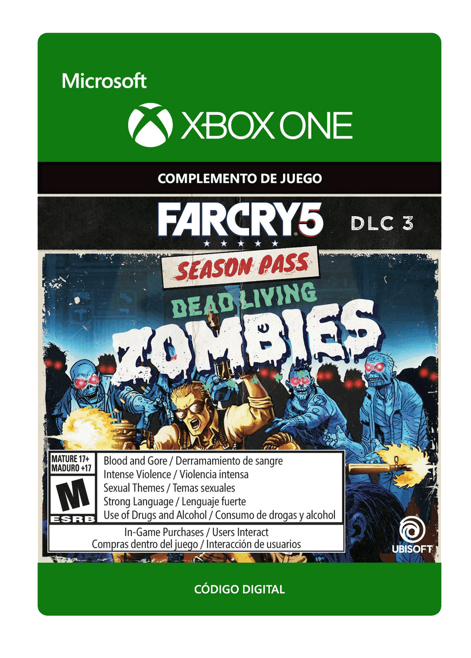 Far Cry 5: Muertos Vivientes Zombies DLC