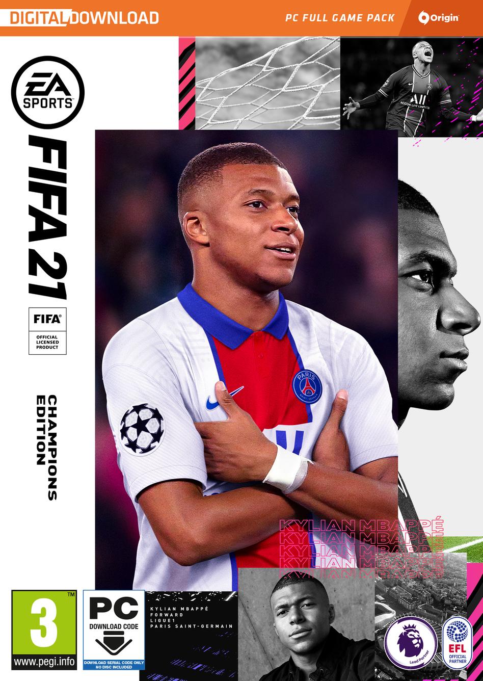 FIFA 21 Champions Edition - Origin