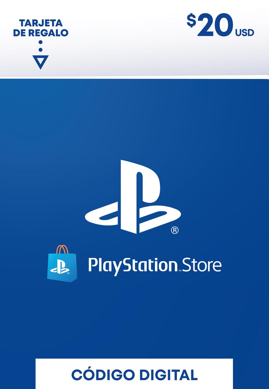 Tarjeta de Regalo PlayStation Store de 20 Dolares
