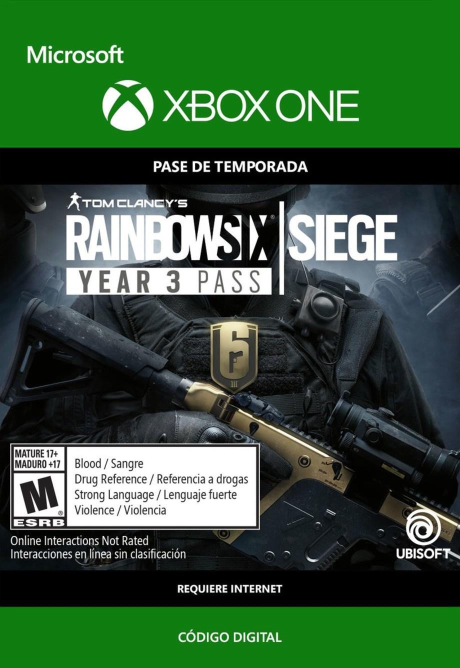 Tom Clancy's Rainbow Six: Siege Year 3 Pass