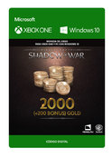 Middle Earth Shadow Of War 2200 de Oro