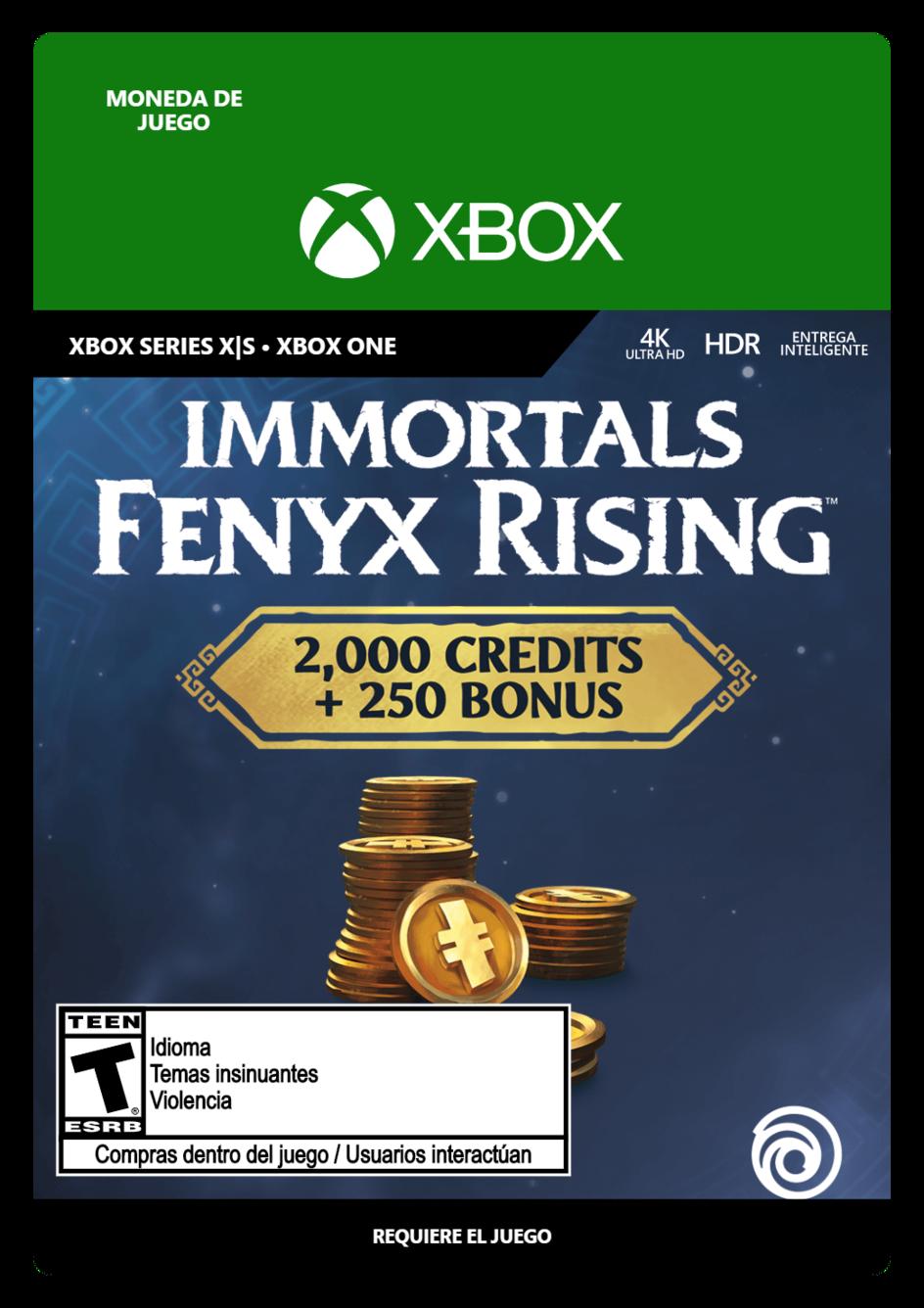 Immortals Fenyx Rising Large Credits Pack 2250