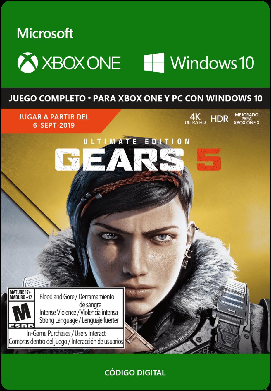 Gears 5 Ultimate Edition Pre Venta