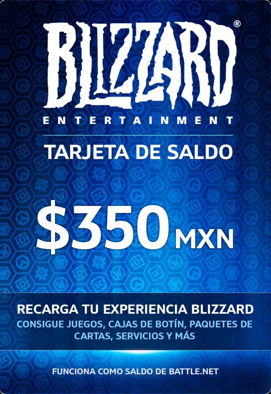 Blizzard Tarjeta de saldo 350 MXN