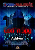 God n Spy add-on - Power & Revolution: Geo-Political Simulator 4
