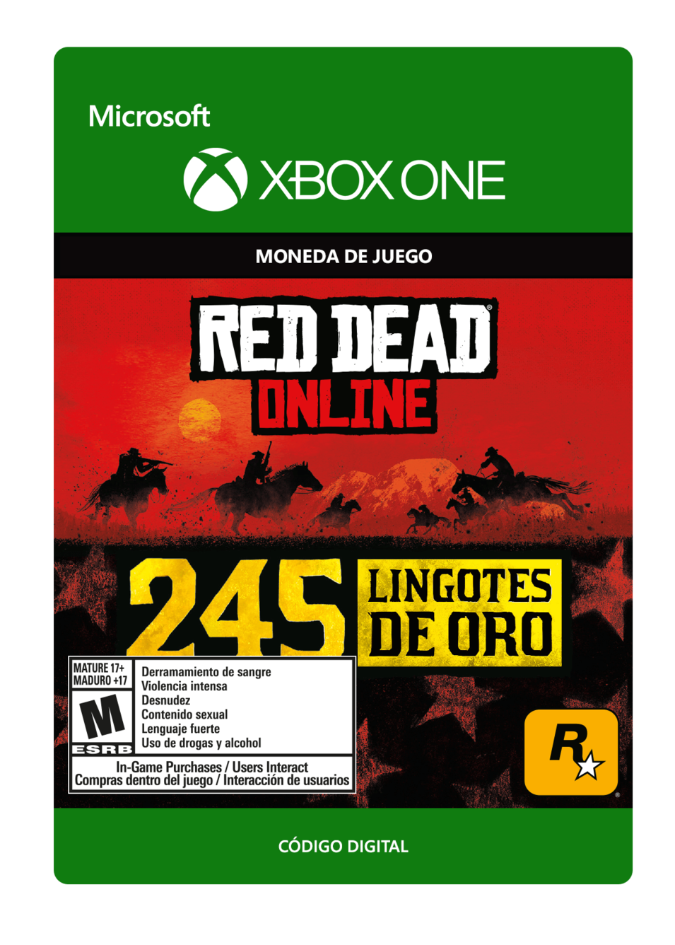 Red Dead Redemption 2: 245 Gold Bars Lingotes de Oro