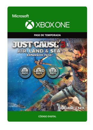 Just Cause 3 - Land, Sea, Air Expansion Pass