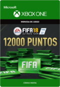 FIFA 18 Points Pack De 12000