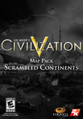 Sid Meier s Civilization® V Map Pack: Scrambled Continents (DLC)