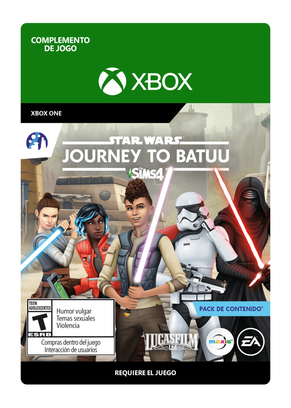 The Sims 4 Star Wars: Journey to Batuu DLC
