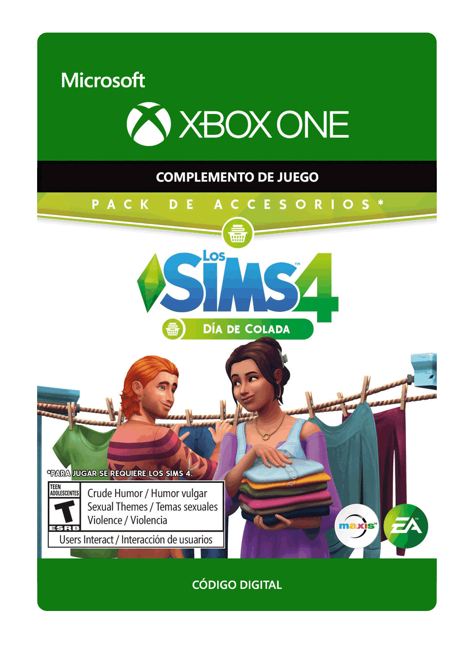 The Sims 4 Día de Colada Laundry Day DLC