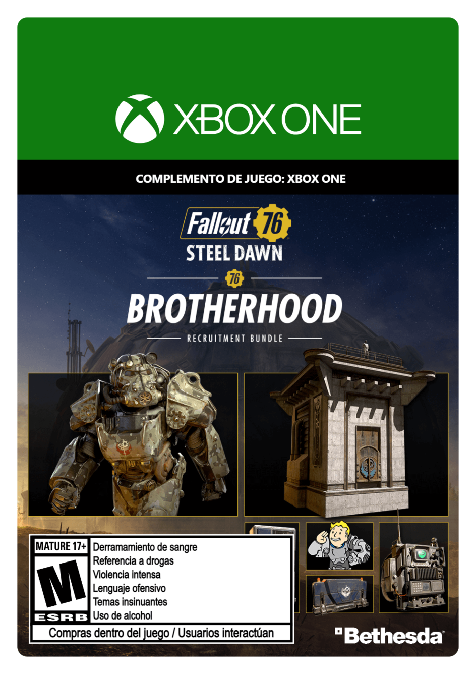 Fallout 76: Brotherhood Recruitment Bundle DLC