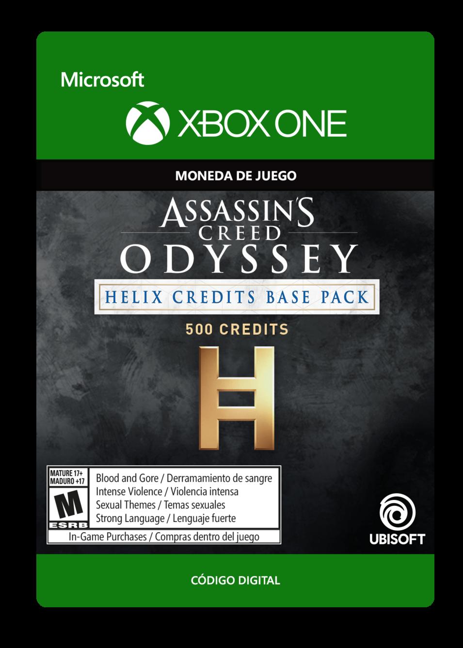 Assassin s Creed Odyssey - CRÉDITOS DE HELIX - PAQUETE BÁSICO 500