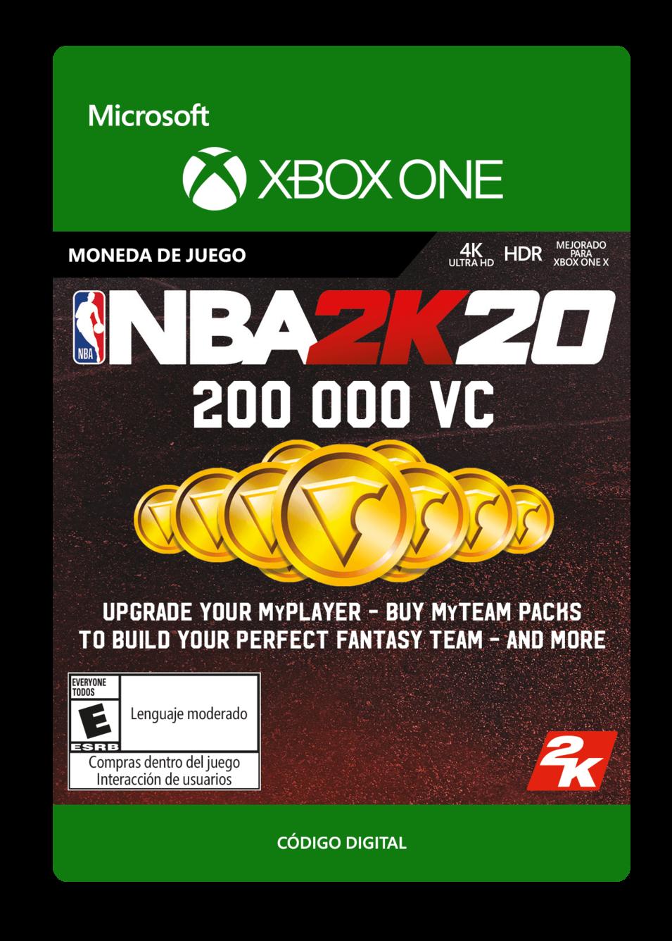 NBA 2K20 200000 VC