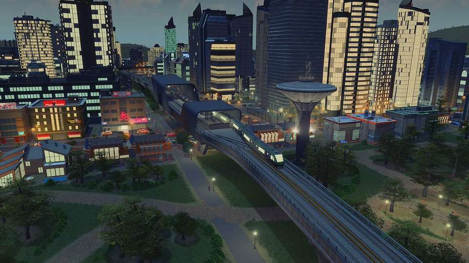 Cities: Skylines - Content Creator Pack Train Stations