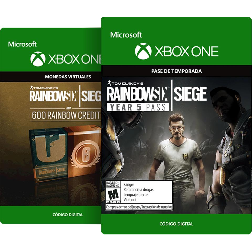 Tom Clancy s Rainbow Six Siege Year 5 Pass + 600 Créditos