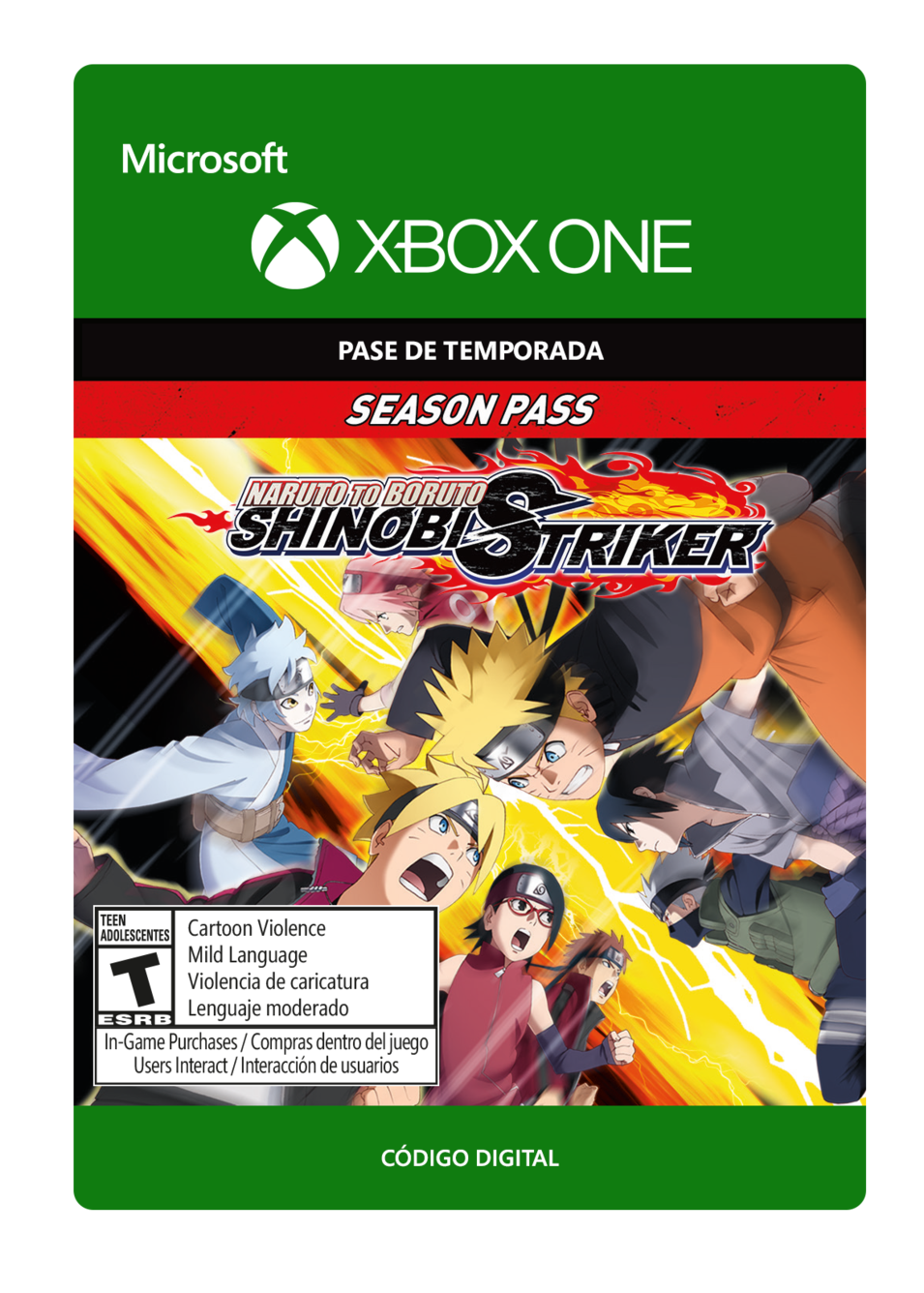 Naruto To Boruto: Shinobi Striker Pase de Temporada